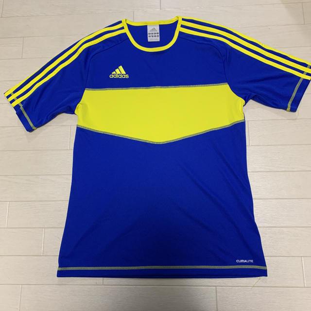 adidas(アディダス)の【adidas】 美品 Tシャツ サッカー  トレーニング ランニング M スポーツ/アウトドアのランニング(ウェア)の商品写真