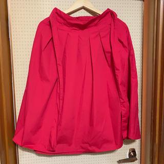 シマムラ(しまむら)の赤 スカート(ひざ丈スカート)