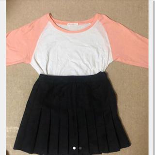 WEGO - Tシャツとスカートの二個セット