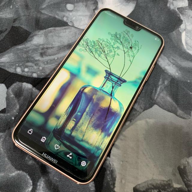 HUAWEI P20 Lite サクラピンク 32 GB SIMフリー スマホ/家電/カメラのスマートフォン/携帯電話(スマートフォン本体)の商品写真