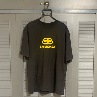 Balenciaga - バレンシアガ LOGO T-シャツ yellow