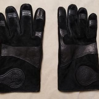 ディーゼル(DIESEL)のDIESEL BLACK GOLD グローブ 手袋 黒(その他)