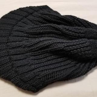 エイケイエム(AKM)のAKM ニットキャップ 黒 フリーサイズ(ニット帽/ビーニー)