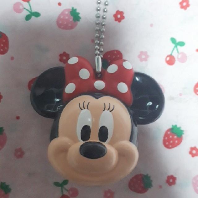 Disney(ディズニー)のミニー ストラップ ディズニーランド限定 送料込 300円 エンタメ/ホビーのアニメグッズ(ストラップ)の商品写真