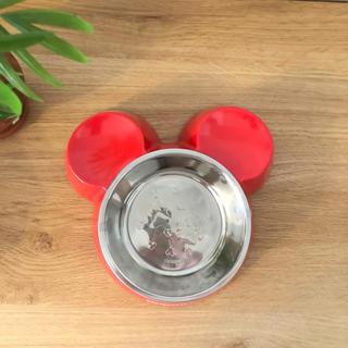 【未使用・タグ付き】ディズニー ペット用フードボウル 食器