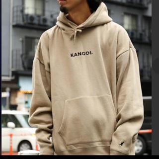 カンゴール(KANGOL)の⁂ カンゴール  KANGOL ベージュパーカー (パーカー)