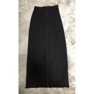 PLEATS PLEASE ISSEY MIYAKE - pleats please issey miyake ロングスカート ブラック