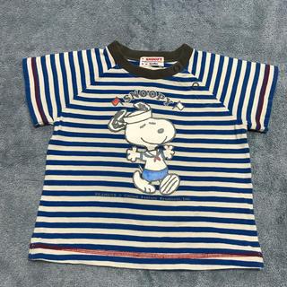 ファミリア(familiar)のファミリア スヌーピー 半袖Tシャツ 80CM(Tシャツ)