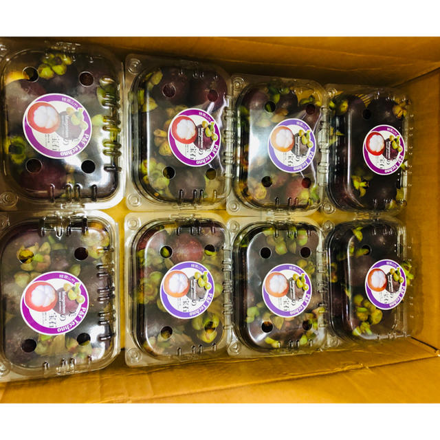 マンゴスチン  2キロ 食品/飲料/酒の食品(フルーツ)の商品写真