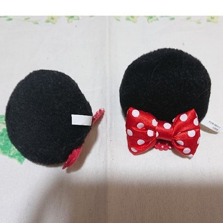 ディズニー(Disney)のミニーマウス ヘアピン(キャラクターグッズ)