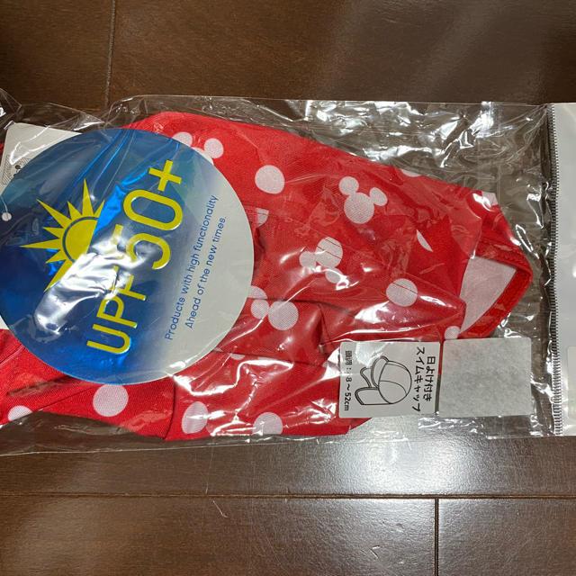 Disney(ディズニー)のお値下げ不可 新品 ミニー スイムキャップ キッズ/ベビー/マタニティのキッズ服女の子用(90cm~)(水着)の商品写真