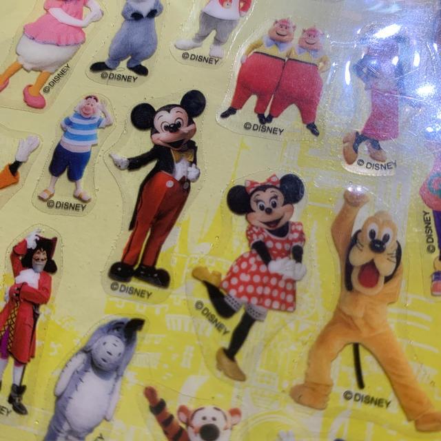 Disney(ディズニー)のディズニー シール インテリア/住まい/日用品の文房具(シール)の商品写真