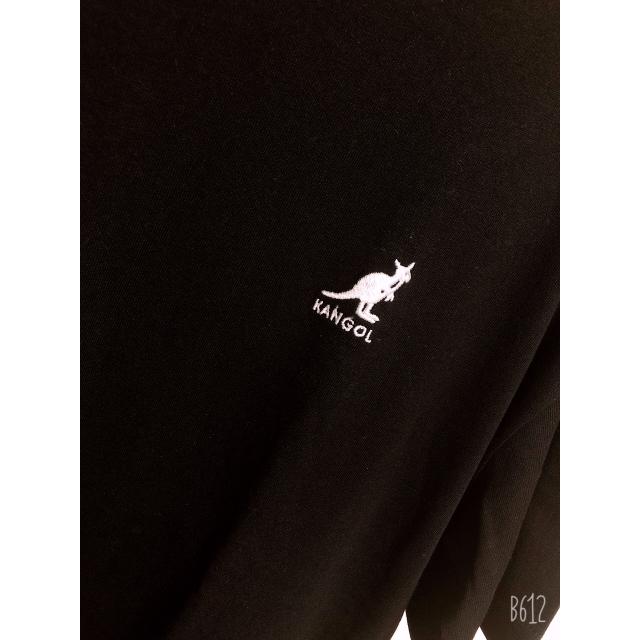 KANGOL(カンゴール)のカンゴール ブラック レディースのトップス(Tシャツ(半袖/袖なし))の商品写真