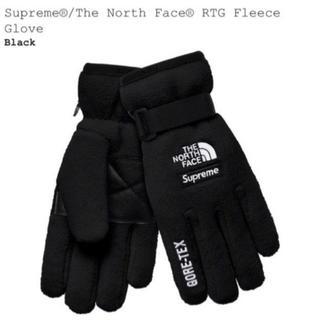 シュプリーム(Supreme)のsupreme  rtg fleece glove black(手袋)