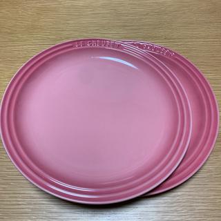 ルクルーゼ(LE CREUSET)の『美品』ル・クルーゼ 23㎝ 2枚セット(食器)