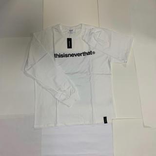 スタイルナンダ(STYLENANDA)の新品未使用!thisisneverthat ロングシャツ Lサイズ(Tシャツ/カットソー(七分/長袖))