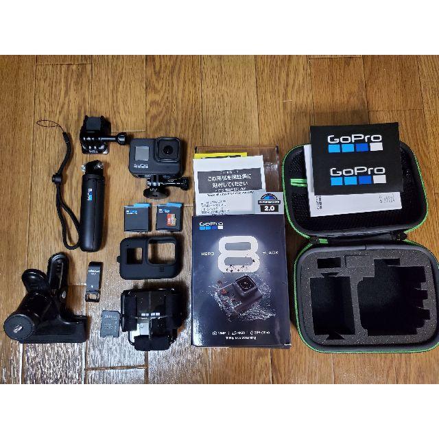 GoPro(ゴープロ)のGoPro HERO 8 限定BOX CHDRB-801-FW スマホ/家電/カメラのカメラ(コンパクトデジタルカメラ)の商品写真
