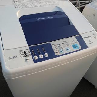 Z43384 日立7kg洗濯機浸透洗浄白い約束 NW-R70
