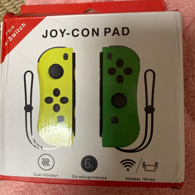 Nintendo Switch(ニンテンドースイッチ)の任天堂スイッチジョイコンパッド新品動作確認すみ‼️ エンタメ/ホビーのゲームソフト/ゲーム機本体(携帯用ゲーム機本体)の商品写真