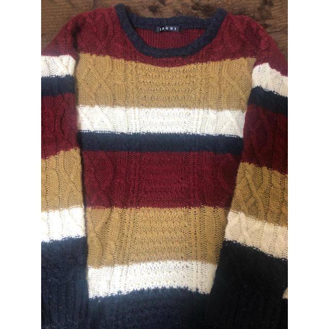 INGNI(イング)のINGNI ニット レディースのトップス(ニット/セーター)の商品写真