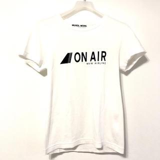ミュベールワーク(MUVEIL WORK)のミュベールワーク Tシャツ ホワイト 白T 36(Tシャツ(半袖/袖なし))
