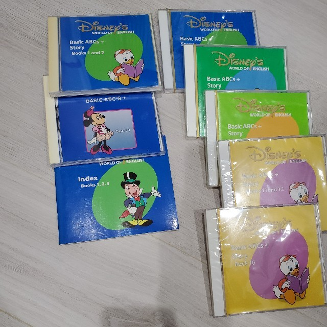 ディズニー英語システム DWE メインプログラム ワールドファミリー キッズ/ベビー/マタニティのおもちゃ(知育玩具)の商品写真