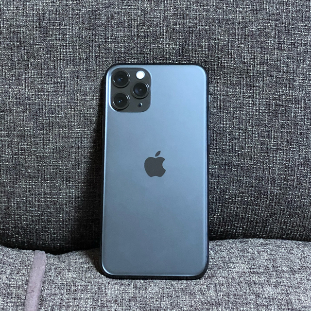 iPhone(アイフォーン)のiPhone 11 Pro スペースグレイ 64 GB SIMフリー 新品 スマホ/家電/カメラのスマートフォン/携帯電話(スマートフォン本体)の商品写真
