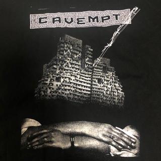 ビューティアンドユースユナイテッドアローズ(BEAUTY&YOUTH UNITED ARROWS)のC.E  cavempt  Tシャツ  Mサイズ シーイー(Tシャツ/カットソー(半袖/袖なし))