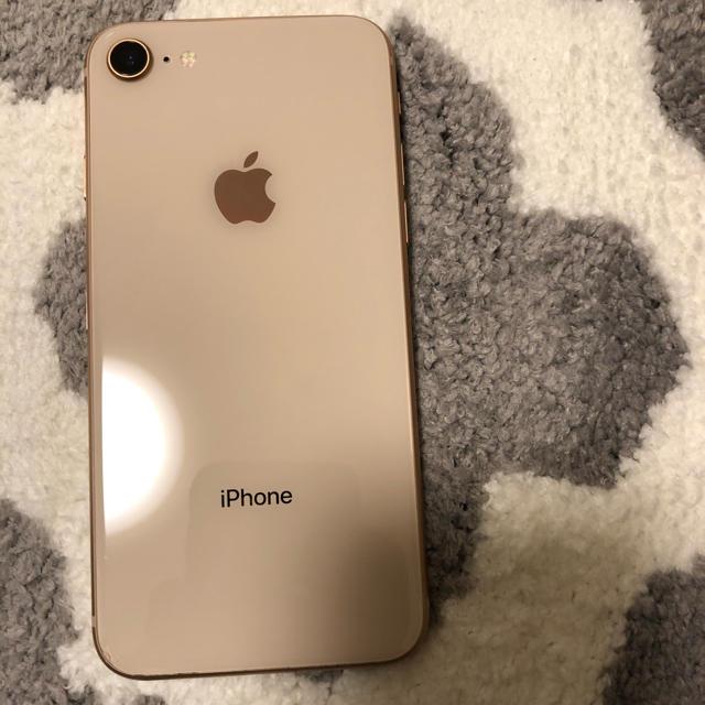 Apple(アップル)のiPhone8 64gb simフリー ジャンク スマホ/家電/カメラのスマートフォン/携帯電話(スマートフォン本体)の商品写真