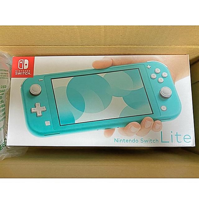 Nintendo Switch(ニンテンドースイッチ)のNintendo  Switch   Lite ターコイズ スイッチライト エンタメ/ホビーのゲームソフト/ゲーム機本体(携帯用ゲーム機本体)の商品写真