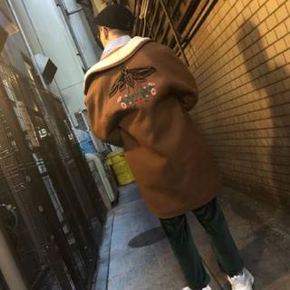 グッチ(Gucci)のGUCCI 17AW インセクト ボアコート コカコーラさん専用(チェスターコート)