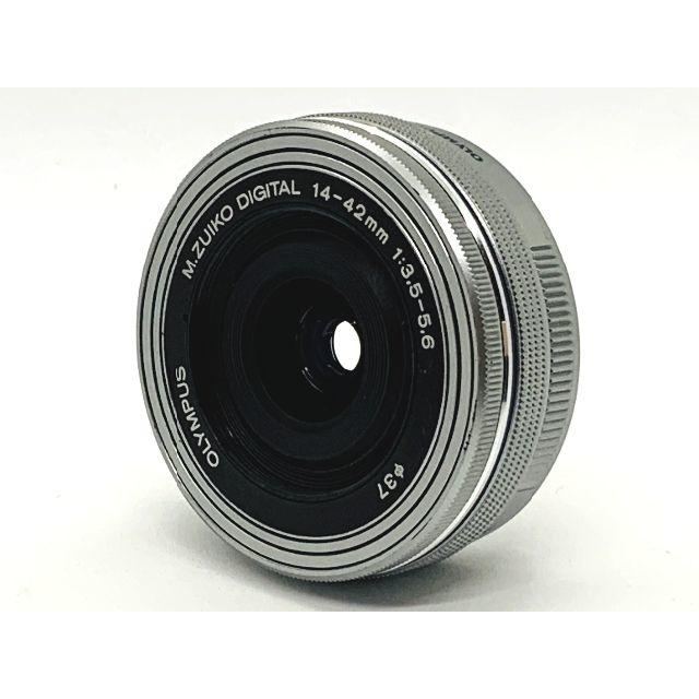 OLYMPUS(オリンパス)の★オリンパス★パンケーキ★M.ZUIKO DIGITAL 14-42mm EZ スマホ/家電/カメラのカメラ(レンズ(ズーム))の商品写真