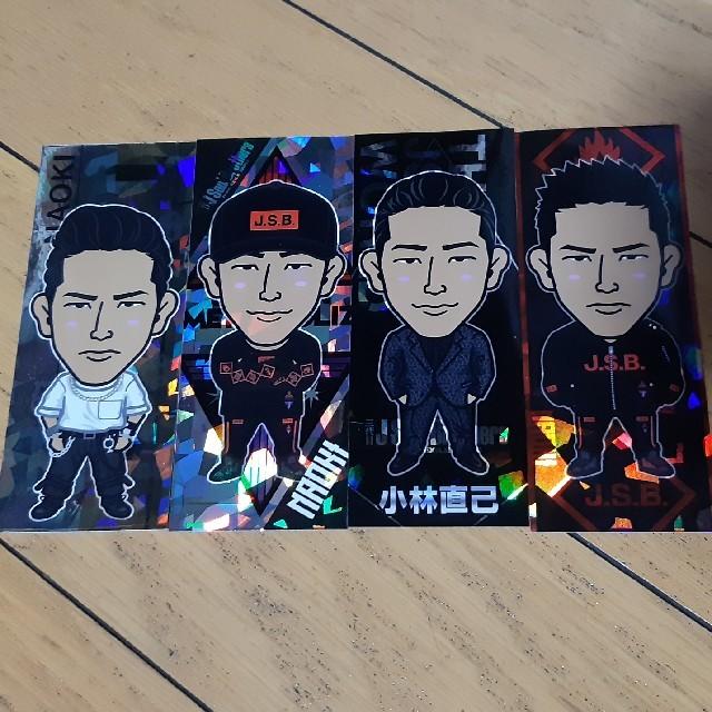 三代目 J Soul Brothers(サンダイメジェイソウルブラザーズ)の小林直己 ステッカーセット エンタメ/ホビーのタレントグッズ(ミュージシャン)の商品写真