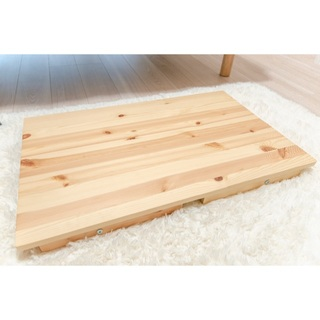 ムジルシリョウヒン(MUJI (無印良品))の無印 MUJI 折りたたみ式のローテーブル (ローテーブル)