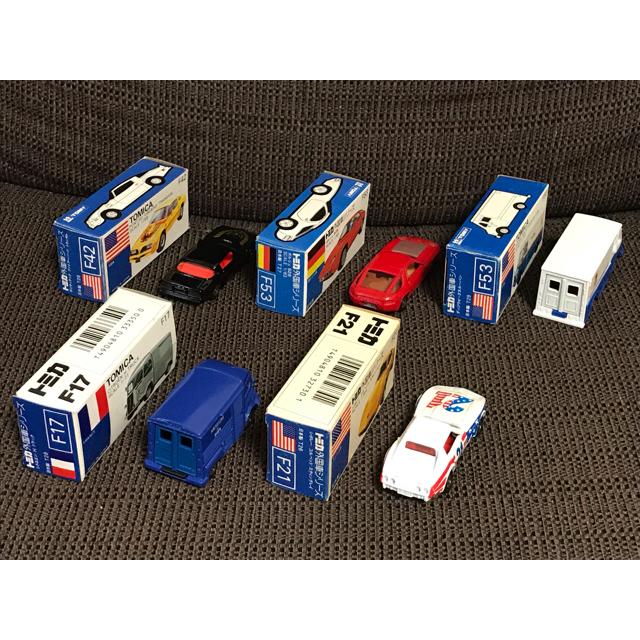 Takara Tomy(タカラトミー)のtomosike様専用  青箱トミカ 5台セット エンタメ/ホビーのおもちゃ/ぬいぐるみ(ミニカー)の商品写真