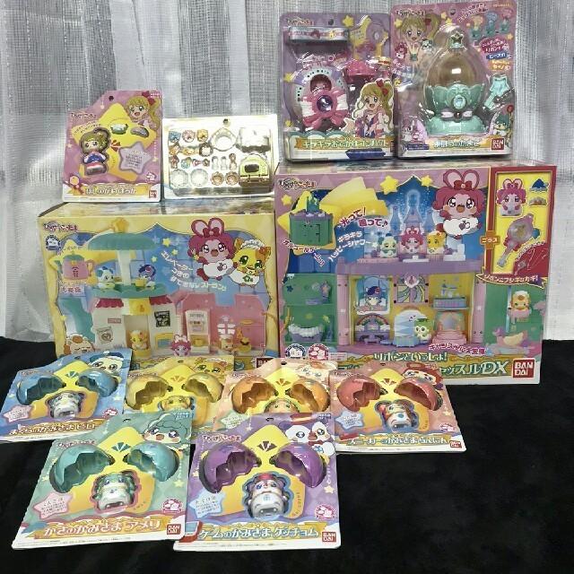 キラキラハッピー ひらけ! ここたま 全種類&付属品セット☆ エンタメ/ホビーのおもちゃ/ぬいぐるみ(キャラクターグッズ)の商品写真