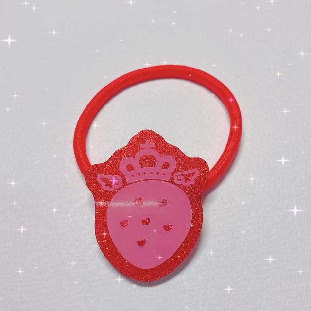 すとぷり 莉犬 りいぬ ヘアゴム エンタメ/ホビーのおもちゃ/ぬいぐるみ(キャラクターグッズ)の商品写真