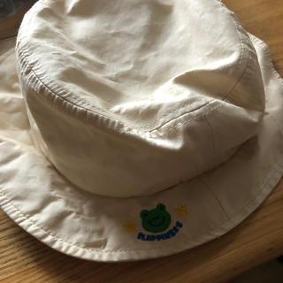 サンカンシオン(3can4on)の帽子 52cm 日除け付き(帽子)