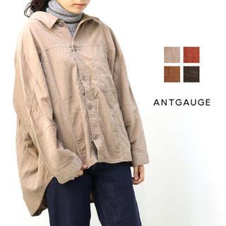 アントゲージ(Antgauge)のコーデュロイ オーバーワークシャツ アントゲージ(ライダースジャケット)