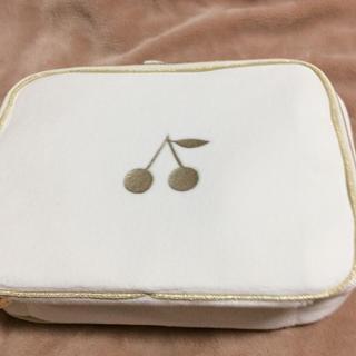 ボンポワン(Bonpoint)のボンポワン  ベロアポーチ  エスサイズ sサイズ スーツケース(その他)