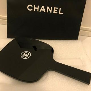 シャネル(CHANEL)のシャネル ノベルティ手鏡 ブラック(ミラー)