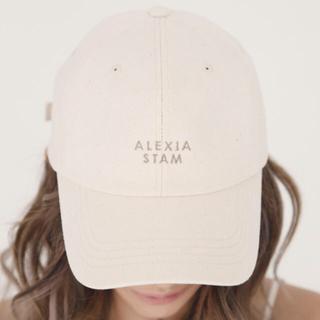 ALEXIA STAM - アリシアスタン キャップ アイボリー