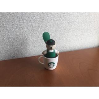 スターバックスコーヒー(Starbucks Coffee)のスターバックスコーヒー USB ベアリスタ ミニ扇風機(その他)
