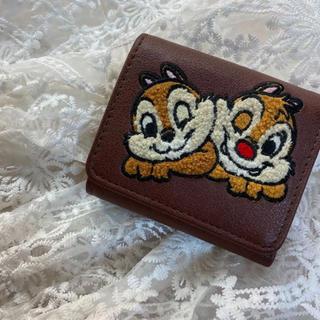 ディズニー(Disney)のチップとデール 三つ折財布(財布)
