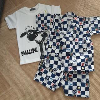 ニシマツヤ(西松屋)のTシャツと甚平セット♪(甚平/浴衣)
