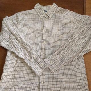 ラルフローレン(Ralph Lauren)のラルフローレン ボタンダウンシャツ 160センチ(ブラウス)