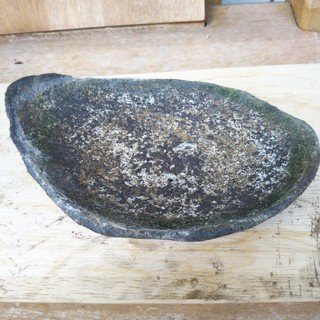 ミニ盆栽用 素焼き平鉢(その他)