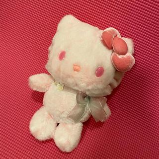 ハローキティ(ハローキティ)の激レア❤︎桜ハローキティぬいぐるみ❤︎(ぬいぐるみ)