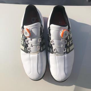 アディダス(adidas)のアディダスゴルフシューズ25センチ(シューズ)