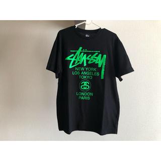 STUSSY - stussy Tシャツ 半袖 Lサイズ